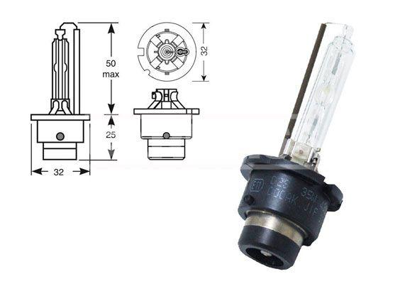 70721103 CARPRISS Glühlampe, Fernscheinwerfer für MERCEDES-BENZ online bestellen