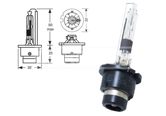 70721104 CARPRISS Glühlampe, Fernscheinwerfer für MERCEDES-BENZ online bestellen