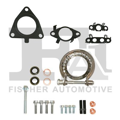 Original FIAT Turbolader Dichtungssatz KT210380