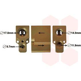 разширителен клапан, климатизация VAN WEZEL 58001076 купете и заменете