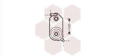 Automatikgetriebe Ölkühler Golf 4 2000 - VAN WEZEL 58003110 ()