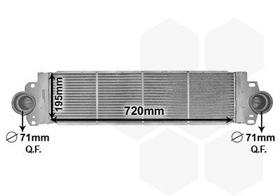 bestel op elk moment Radiator intercooler 58004233