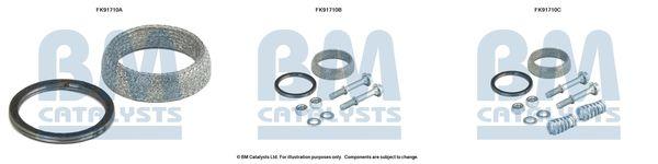 OE Original Montagesatz Vorkatalysator FK91710 BM CATALYSTS