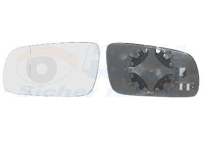 SEAT TOLEDO 2014 Spiegelglas Außenspiegel - Original VAN WEZEL 5888833
