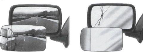 Spiegelglas VAN WEZEL 7604