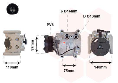 Original JAGUAR Kompressor 7700K025