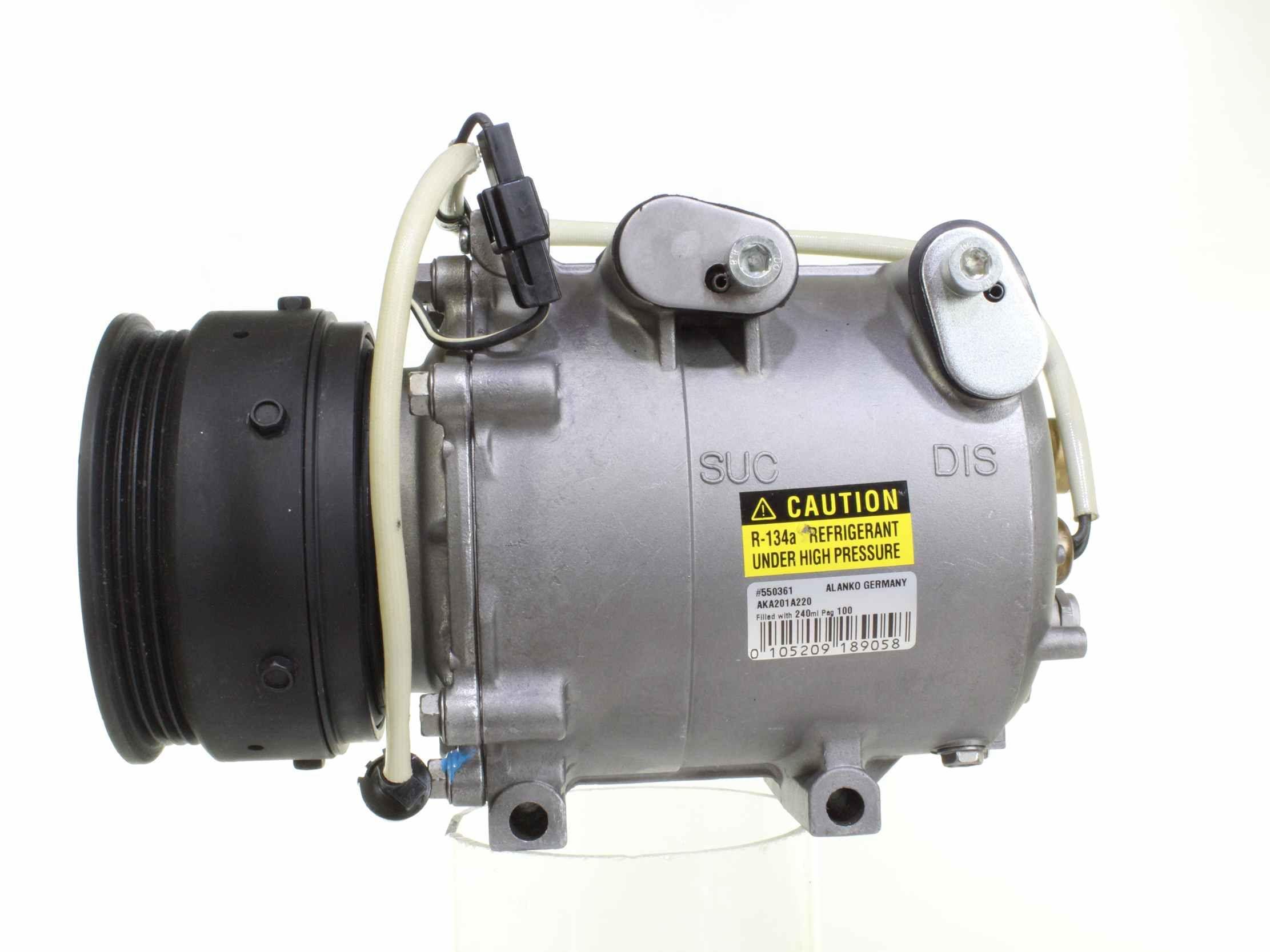 AX105VSR ALANKO PAG 100 Riemenscheiben-Ø: 115mm Klimakompressor 10550361 günstig kaufen