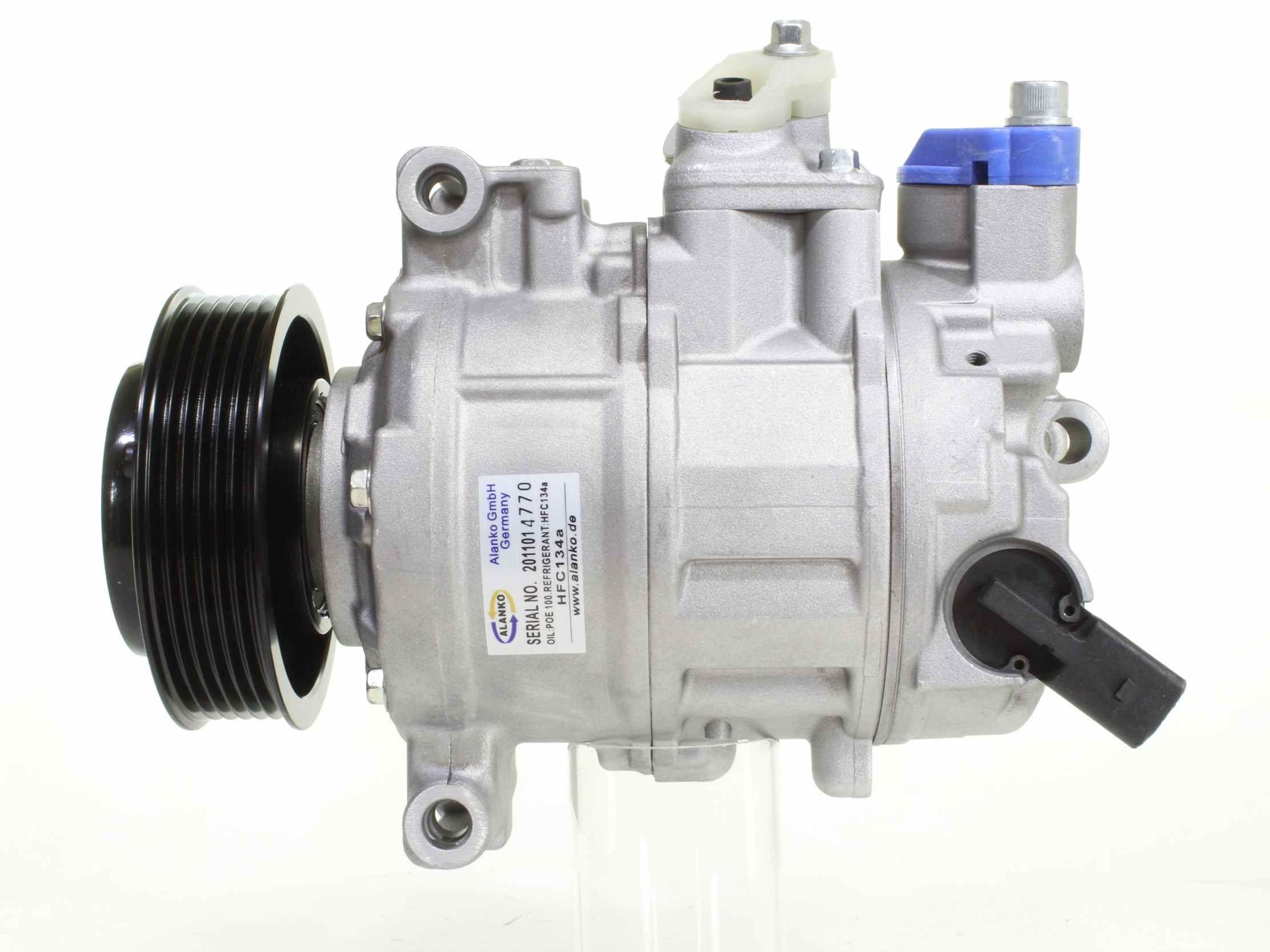 6SEU14C ALANKO PAG 46, Kältemittel: R 134a Riemenscheiben-Ø: 100mm Klimakompressor 10550608 günstig kaufen