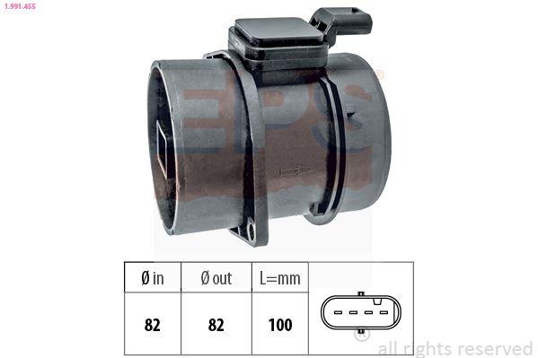 Original JAGUAR Luftmassenmesser 1.991.455
