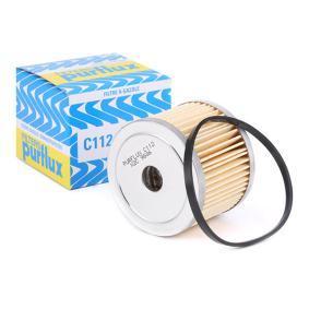 Achat de C112 PURFLUX Hauteur: 51mm Filtre à carburant C112 pas chères