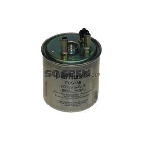 FCS738 PURFLUX Höhe: 143mm Kraftstofffilter FCS738 günstig kaufen