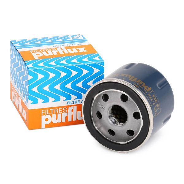 Origine Filtre à huile PURFLUX LS924 (Ø: 66mm, Hauteur: 60mm)