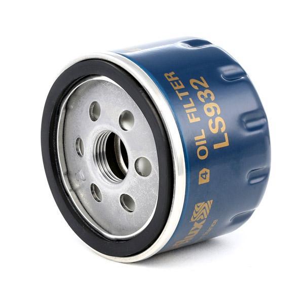 LS932 Filtre d'huile PURFLUX LS932 - Enorme sélection — fortement réduit