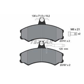 Brake Pad Set, disc brake 2074101 for ALFA ROMEO AR at a discount — buy now!
