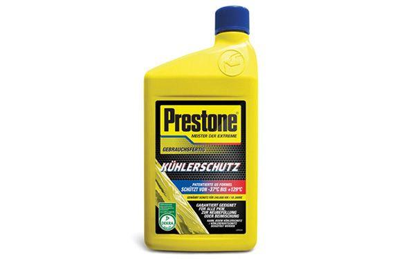 AF2100LD Prestone Frostschutz Bewertung