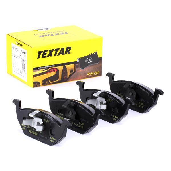 2313001 TEXTAR Bremsbelagsatz, Scheibenbremse Bewertung