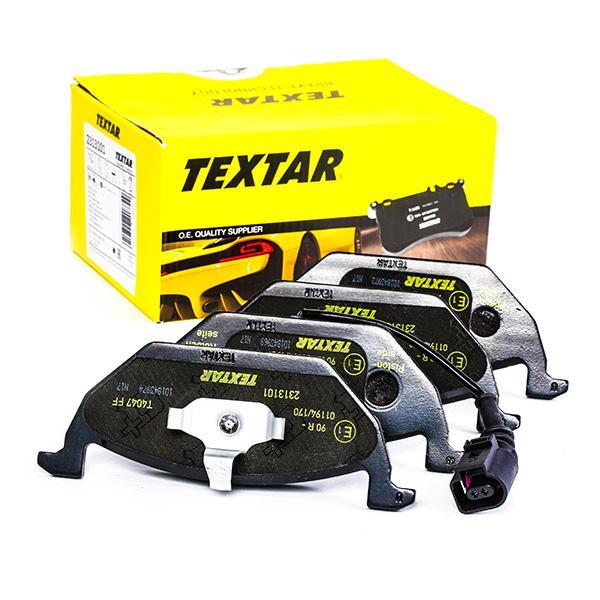 2313101 Bremsbelagsatz TEXTAR - Markenprodukte billig
