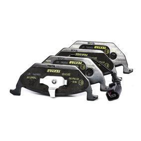 7709D768 TEXTAR mit integriertem Verschleißsensor Höhe: 54,7mm, Breite: 146mm, Dicke/Stärke: 19,7mm Bremsbelagsatz, Scheibenbremse 2313101 günstig kaufen