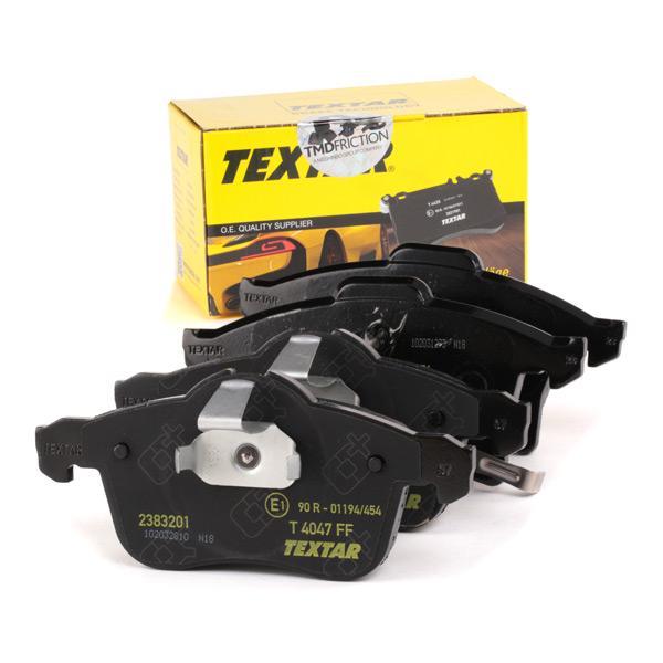 2383201 TEXTAR Bremsbelagsatz, Scheibenbremse Bewertung