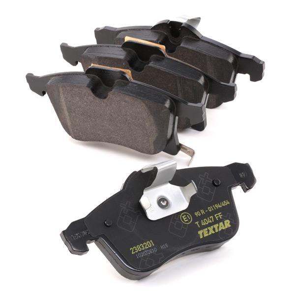 2383201 Bremsbeläge Q+ TEXTAR 8252D1141 - Große Auswahl - stark reduziert