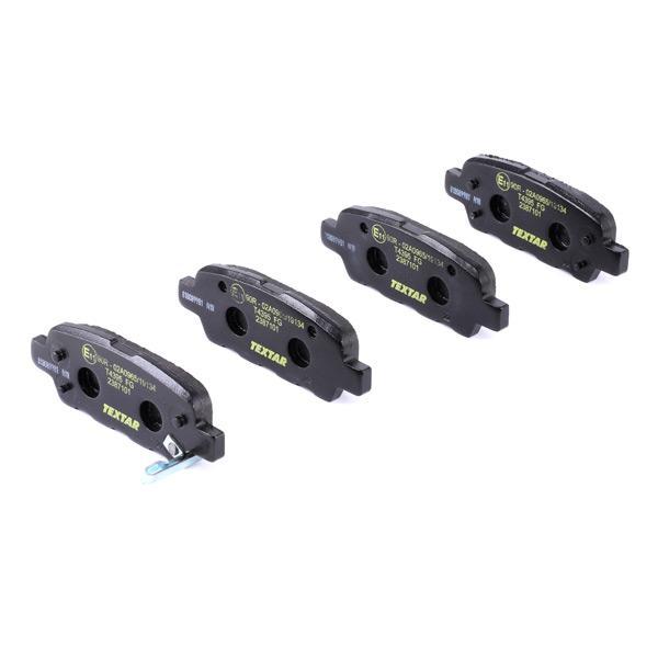 2387101 Bremsbelagsatz TEXTAR - Markenprodukte billig