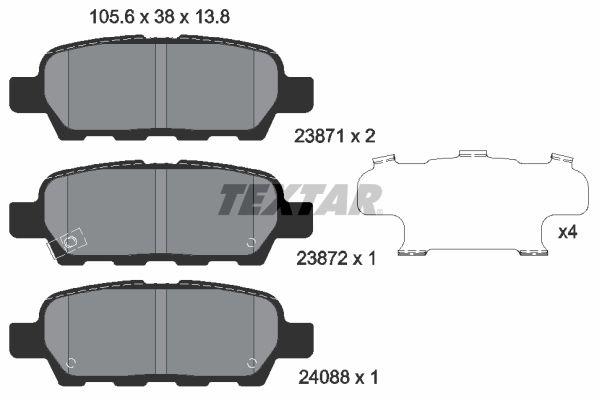 2387101 Bremsklötze TEXTAR Erfahrung