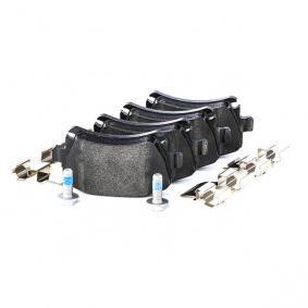 8213D1348 TEXTAR für Verschleißwarnanzeiger vorbereitet, mit Bremssattelschrauben, mit Zubehör Höhe: 55,9mm, Breite: 105,5mm, Dicke/Stärke: 17,2mm Bremsbelagsatz, Scheibenbremse 2391401 günstig kaufen