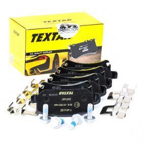 2391401 Bremsbelagsatz, Scheibenbremse Q+ TEXTAR 8213D1108 - Große Auswahl - stark reduziert