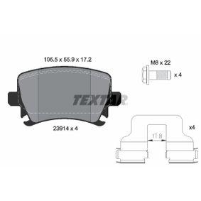 2391401 Bremsklötze TEXTAR Erfahrung