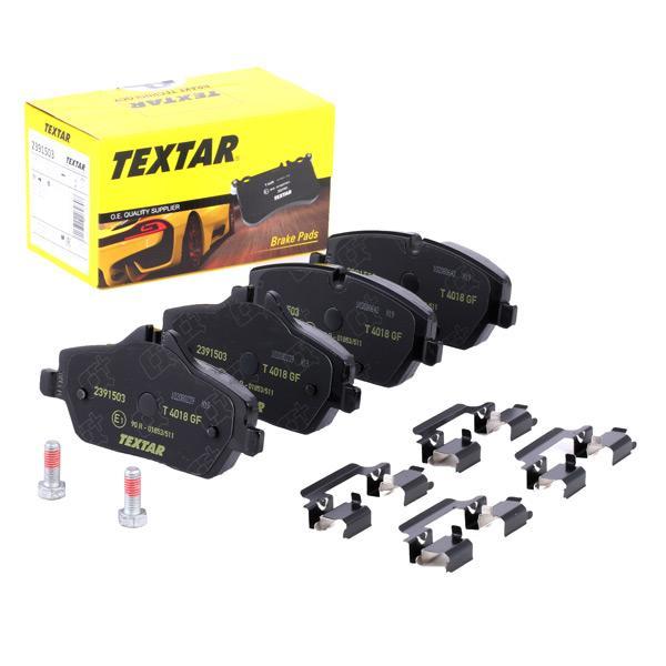 TEXTAR | Bremsbelagsatz, Scheibenbremse 2391503