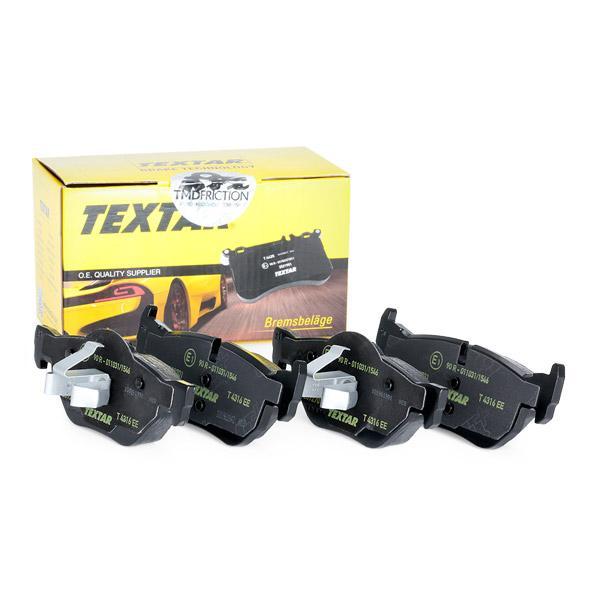 2392701 Bremsbeläge Q+ TEXTAR 7286D1171 - Große Auswahl - stark reduziert