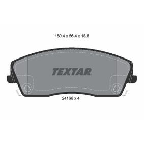 Brake Pad Set, disc brake 2416601 for DODGE CHALLENGER Coupe — get your deal now!