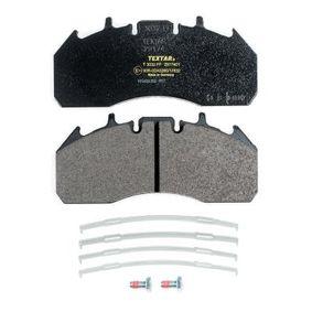 TEXTAR 2917401 Fékbetét készlet, tárcsafék - vásároljon 18% kedvezménnyel