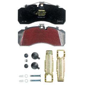 TEXTAR Bromsbeläggssats, skivbroms 2927801 - köp med 17% rabatt