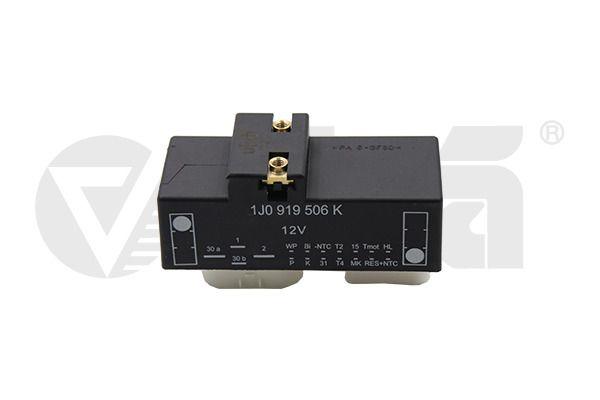 Реле, допълнителна работа на вентилатор на радиатора 99190019701 с добро VIKA съотношение цена-качество