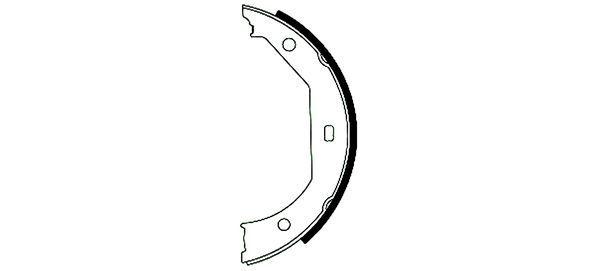 Handbremsbeläge 91049300 rund um die Uhr online kaufen