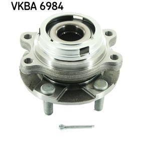 VKBA 6984 SKF mit integriertem ABS-Sensor Radlagersatz VKBA 6984 günstig kaufen