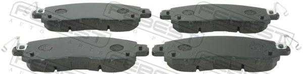 Bremsbelagsatz FEBEST 0201-L33RF
