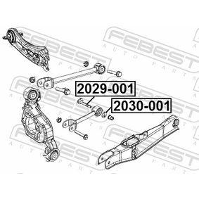 2029001 Inställningsskruv, camber FEBEST 2029-001 Stor urvalssektion — enorma rabatter