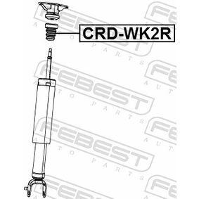 CRDWK2R Gummibuffert, fjädring FEBEST CRD-WK2R Stor urvalssektion — enorma rabatter