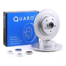 QD1271 QUARO Hinterachse, Voll, beschichtet, mit Radlager, mit integriertem magnetischen Sensorring, ohne Radbefestigungsbolzen Ø: 274mm, Bremsscheibendicke: 11,0mm Bremsscheibe QD1271 günstig kaufen