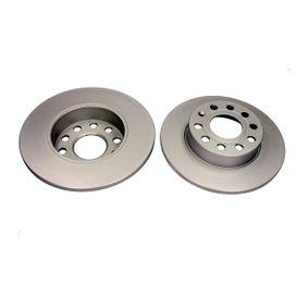 QD1458 QUARO Voll, beschichtet, ohne Radnabe, ohne Radbefestigungsbolzen Ø: 256mm, Bremsscheibendicke: 11,9mm Bremsscheibe QD1458 günstig kaufen