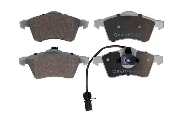 QP1611 QUARO mit integriertem Verschleißsensor Höhe: 68,5mm, Breite: 156,5mm, Dicke/Stärke: 20,6mm Bremsbelagsatz, Scheibenbremse QP1611 günstig kaufen