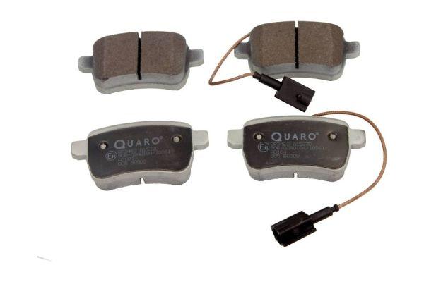 DODGE DART 2016 Bremsbeläge - Original QUARO QP3463 Höhe: 48mm, Breite: 95,7mm, Dicke/Stärke: 17,8mm