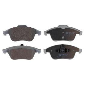 QP5534 QUARO nicht für Verschleißwarnanzeiger vorbereitet Höhe 1: 68mm, Höhe 2: 63mm, Breite 1: 156,4mm, Breite 2: 155,1mm, Dicke/Stärke: 18,0mm Bremsbelagsatz, Scheibenbremse QP5534 günstig kaufen