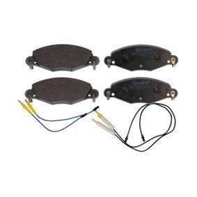 QP5885 QUARO inkl. Verschleißwarnkontakt Höhe: 61,8mm, Breite: 168,7mm, Dicke/Stärke: 18mm Bremsbelagsatz, Scheibenbremse QP5885 günstig kaufen