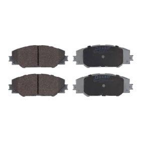 QP5928 QUARO nicht für Verschleißwarnanzeiger vorbereitet Höhe: 56,8mm, Breite: 146,5mm, Dicke/Stärke: 17,6mm Bremsbelagsatz, Scheibenbremse QP5928 günstig kaufen