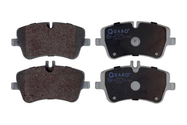 QP5988 QUARO für Verschleißwarnanzeiger vorbereitet Höhe 1: 62mm, Höhe 2: 69,8mm, Breite: 131,2mm, Dicke/Stärke: 19,8mm Bremsbelagsatz, Scheibenbremse QP5988 günstig kaufen