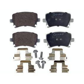 QP5999 QUARO für Verschleißwarnanzeiger vorbereitet, mit Bremssattelschrauben, mit Zubehör Höhe: 55,9mm, Breite: 105,5mm, Dicke/Stärke: 17,2mm Bremsbelagsatz, Scheibenbremse QP5999 günstig kaufen