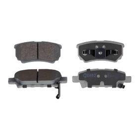 QP6028 QUARO mit akustischer Verschleißwarnung Höhe 1: 39,8mm, Höhe 2: 35,6mm, Breite 1: 85,5mm, Breite 2: 106mm, Dicke/Stärke: 15,4mm Bremsbelagsatz, Scheibenbremse QP6028 günstig kaufen